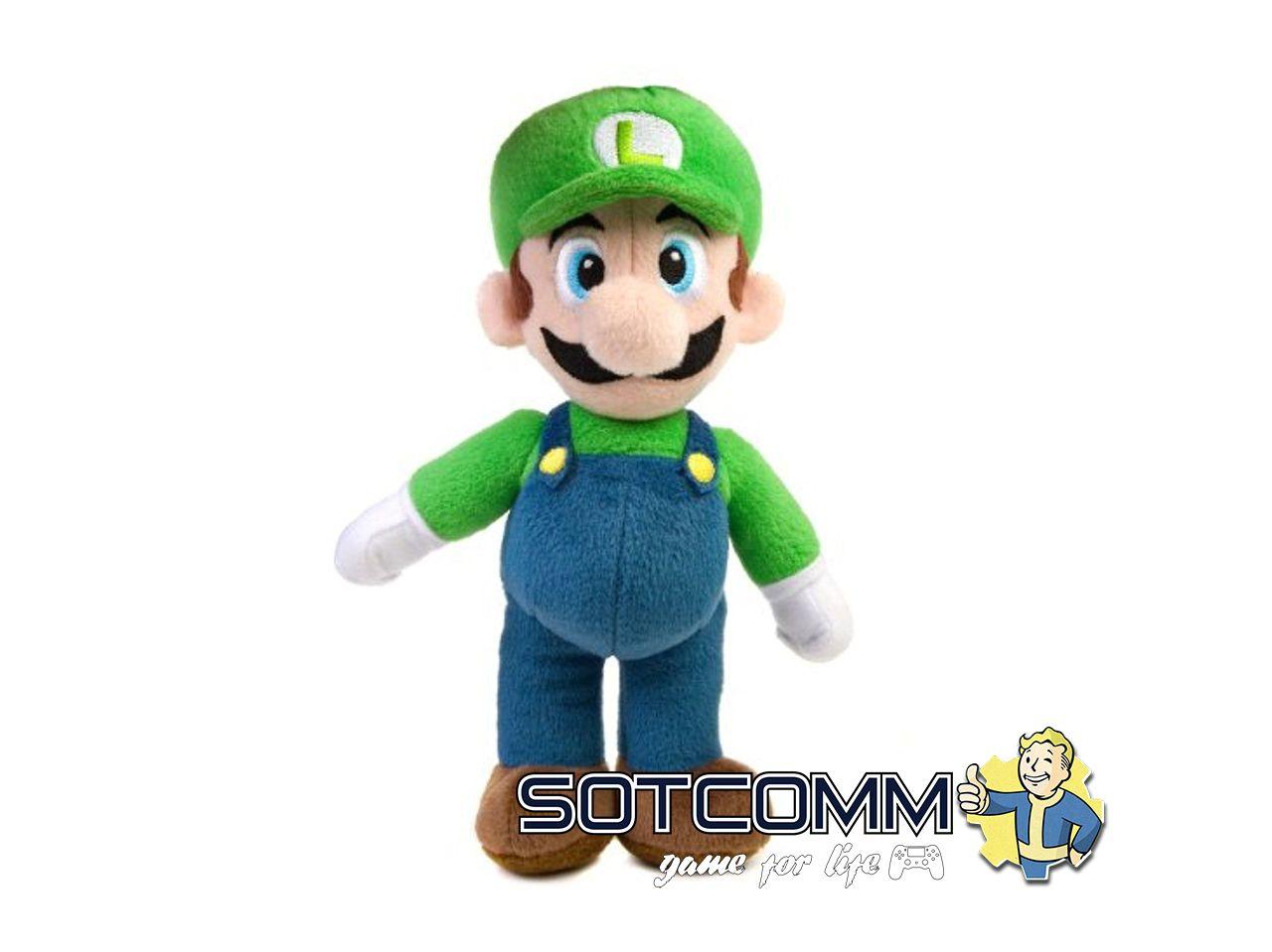 Super Mario: плюшевый Луиджи 40 см