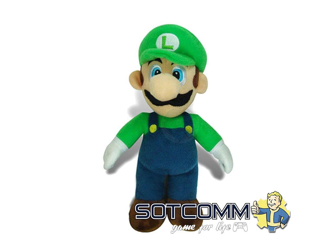Super Mario: плюшевый Луиджи 80 см