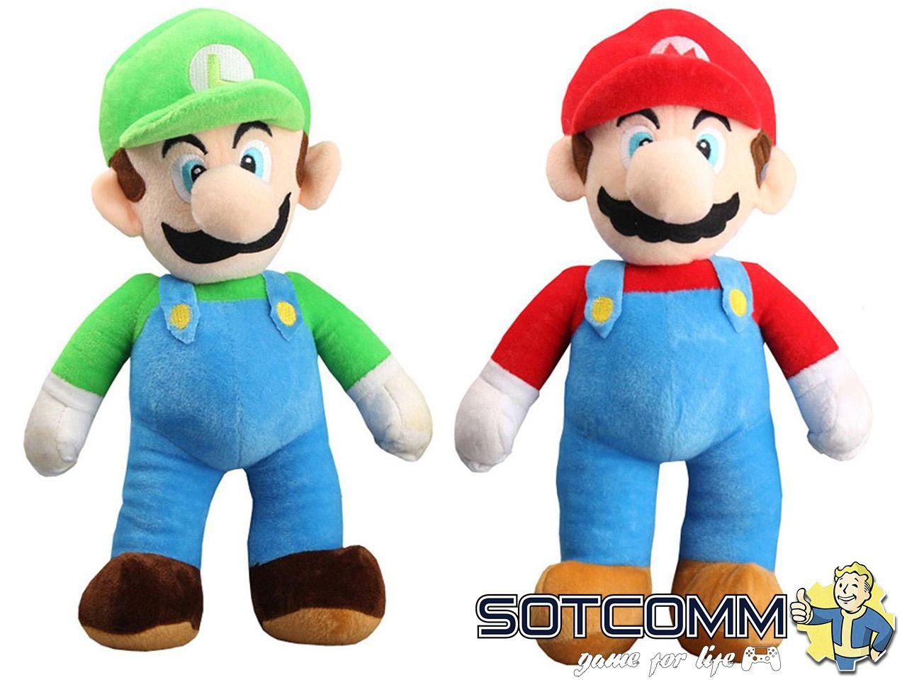 Super Mario: плюшевый Марио 25 см