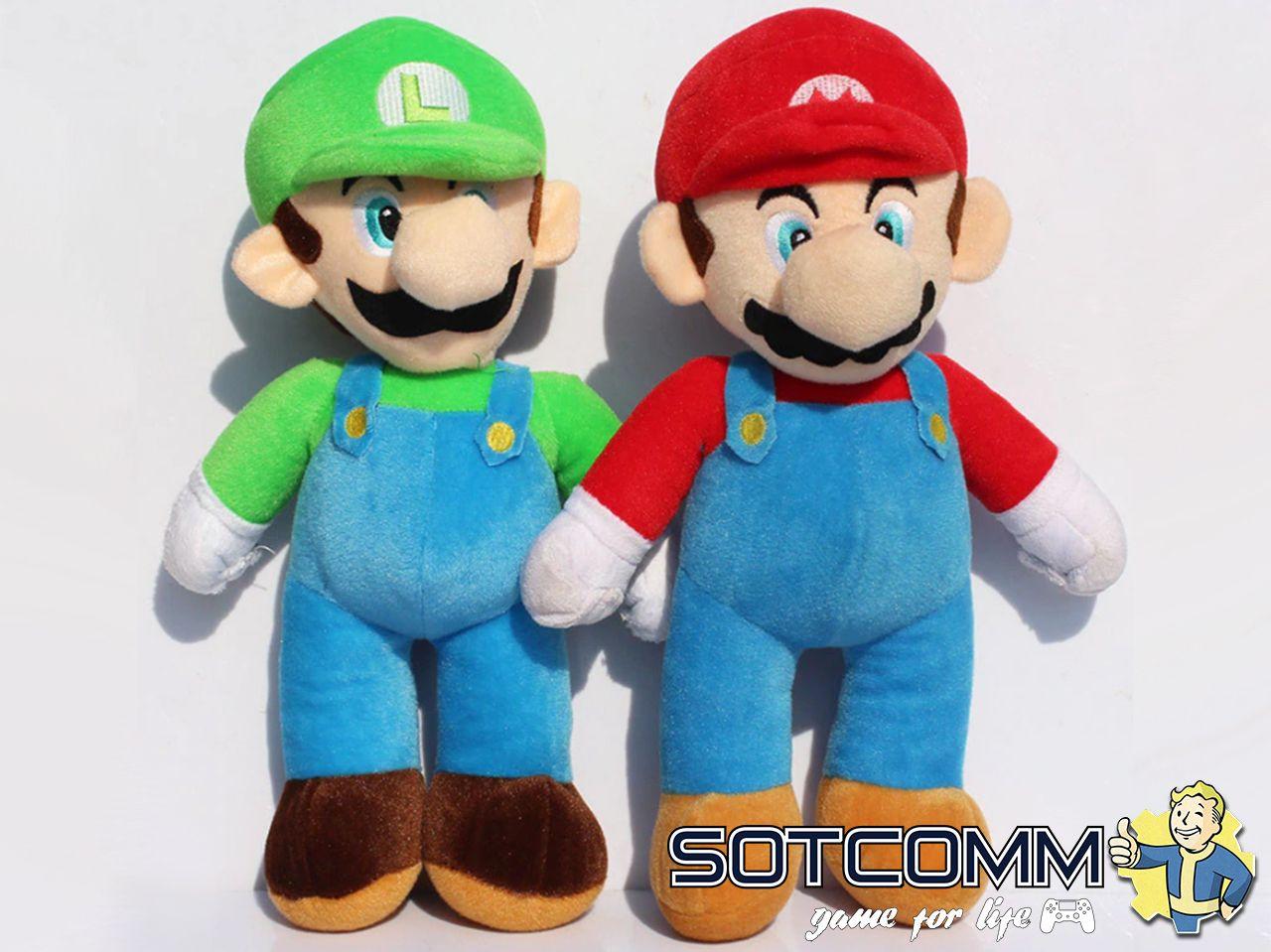 Super Mario: плюшевый Марио 80 см
