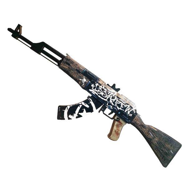 Деревянный автомат CS:GO | AK 47 Пустынный повстанец