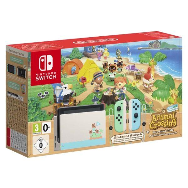 Nintendo Switch. Издание Animal Crossing: New Horizons