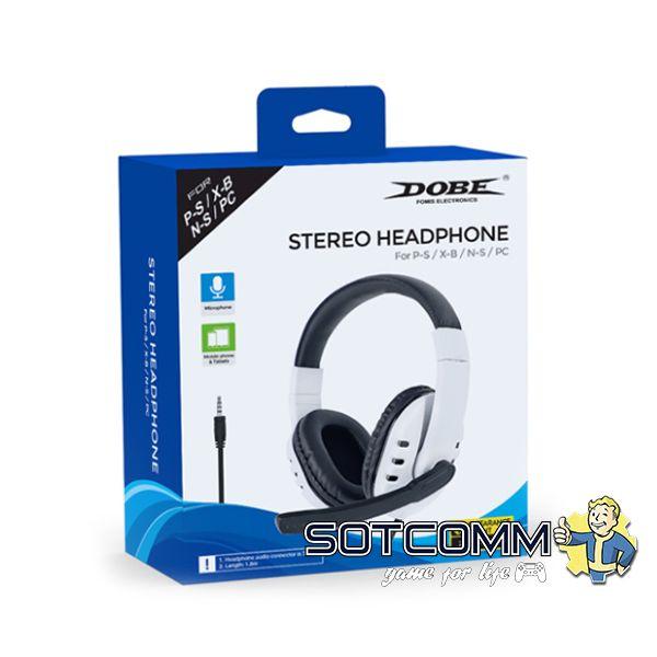 Стерео гарнитура DOBE Stereo Headphone (Dobe TY-0820)