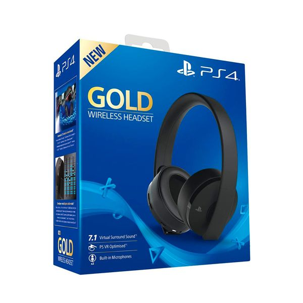 Наушники PS4 PlayStation 4 Gold Wireless Б/У