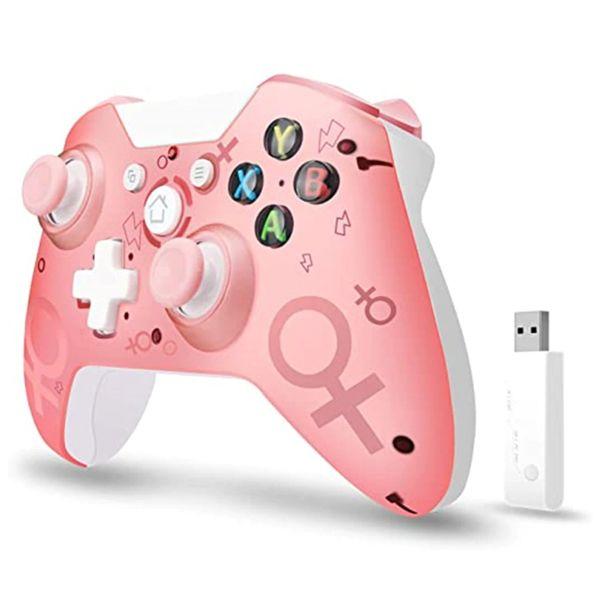 Геймпад беспроводной SexS Розовый