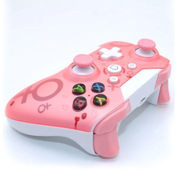 Геймпад беспроводной N1 Розовый