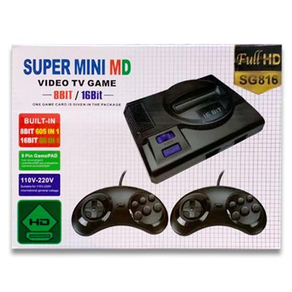 Super Mini MD 8 bit / 16 bit HDMI (691 игра)