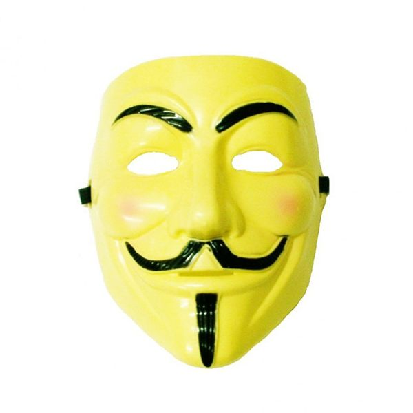 Маска Анонимуса (Желтая)